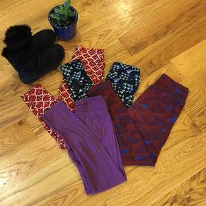 4 LuLaRoe Leggings bundle